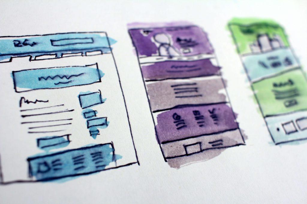 Корица с примерни уеб дизайни